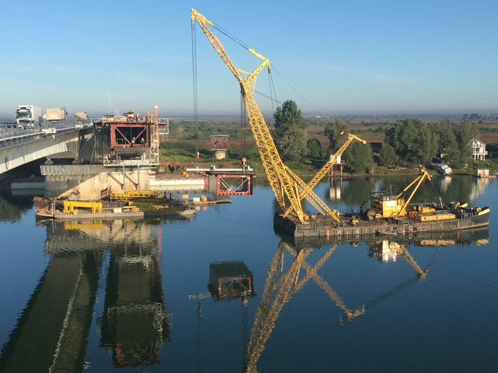 Ostruznica - floating crane